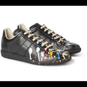 Maison Margiela Splattered Paint Replica Sneakers
